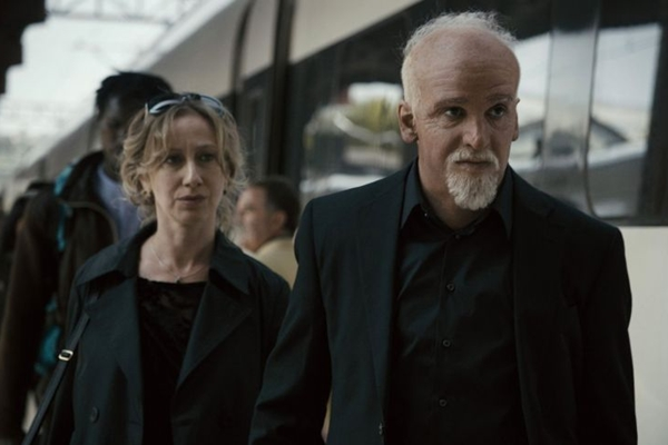 Cena de Não pare na pista: crenças e força do pensamento estão no centro do filme (Sony Pictures/Divulgação)