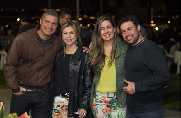 Ângelo Cardoso, Ariane Cardoso, Flávia Weyne e Rafael Weyne ( Romulo Juracy/Esp. CB/D.A Press)