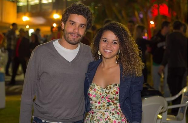 Emanoel Faria e Tainã Oliveira ( Romulo Juracy/Esp. CB/D.A Press)