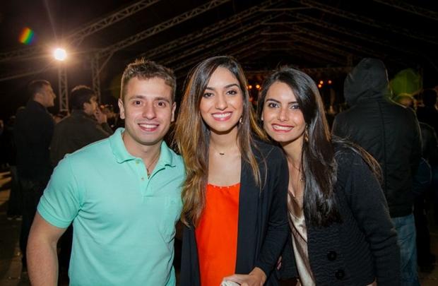 Ricardo Henrique, Pollyanna Menezes e Marcela Melo (Felipe Menezes/Divulgação)