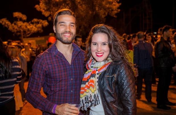 Rodrigo Melkeiades e Poliana Alves (Felipe Menezes/Divulgação)