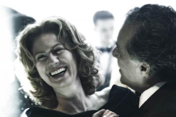 Ângela Mahler (Patrícia Pillar) e Carlos Braga (Tony Ramos): adoráveis inimigos (Estevam Avelar/Globo)