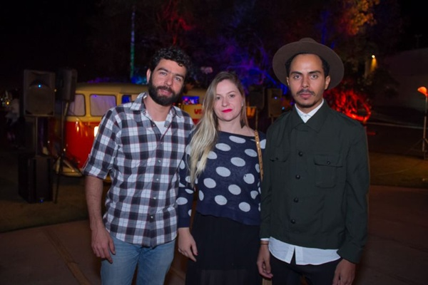 Diogo Gama, Gracilene Bessa e Jean Matos (Romulo Juracy/Esp. CB/D.A Press)