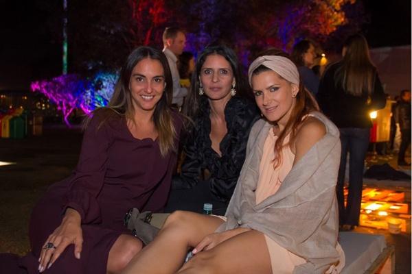 Flávia Coelho, Renata Mattar e Juliana de Lima (Romulo Juracy/Esp. CB/D.A Press)