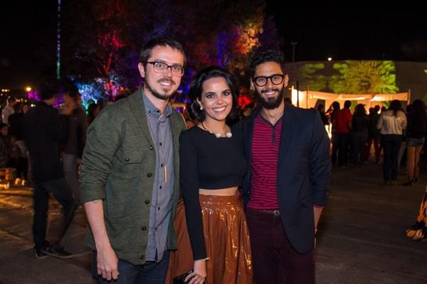 Hiran Albuquerque, Carolina Cyrino e Raul de Lima (Romulo Juracy/Esp. CB/D.A Press)