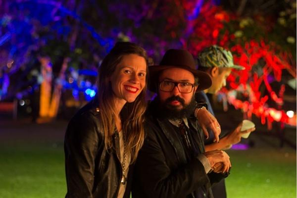 Letícia Abraham e Jackson Araújo (Romulo Juracy/Esp. CB/D.A Press)