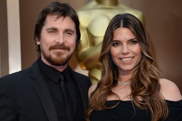 Christian Bale e Sibi Blazic estão juntos há 14 anos (Robyn Beck/AFP Photo)