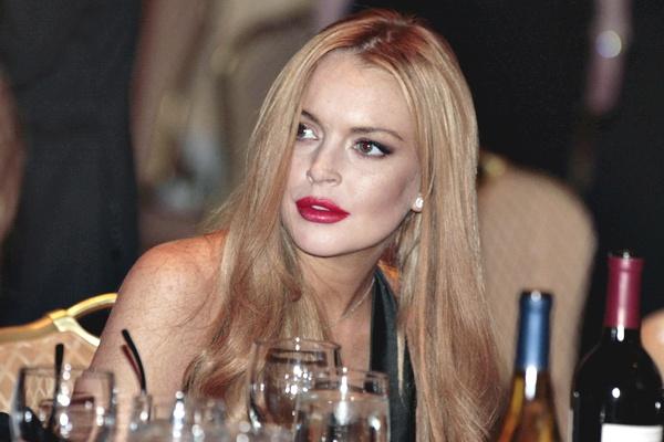 Lindsay Lohan já teve outro problema parecido ao tentar fazer compras em Manhattan (EUA) (Larry Downing/Reuters)