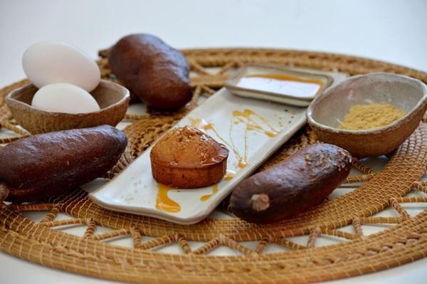 Pão de mel feito com farinha de jatobá: sabores e aromas do cerrado deixam a sobremesa marcante (Gustavo Moreno/CB/D.A Press)
