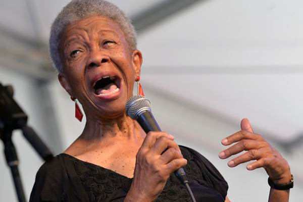 Germaine Bazzle é a principal atração do evento no coração político da cidade  (Rick Diamond/Getty Images/AFP)