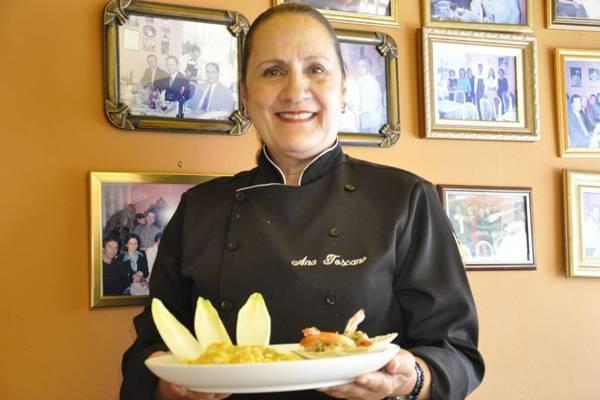 Ana Toscano, chef de cozinha e especialista em risotos (André Violatti/Esp. CB/D.A Press)
