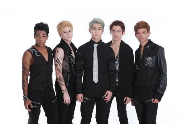 Champs: o primeiro grupo de k-pop brasileiro é uma das atrações de hoje (Internet/Reprodução)