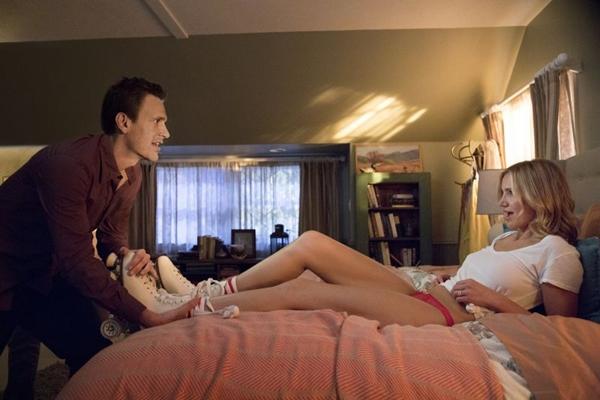 No filme, um casal precisa recuperar um vídeo pornô antes que ele caia na web (Claire Folger/Sony Pictures)