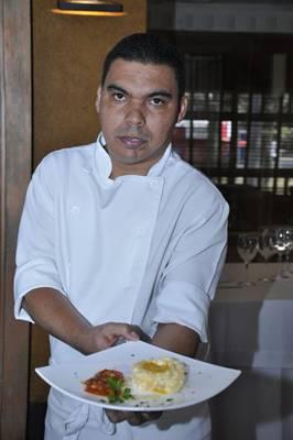 Chef Airton Alves dá dicas para o preparo do quitute (André Violatti/Esp. CB/D.A Press)