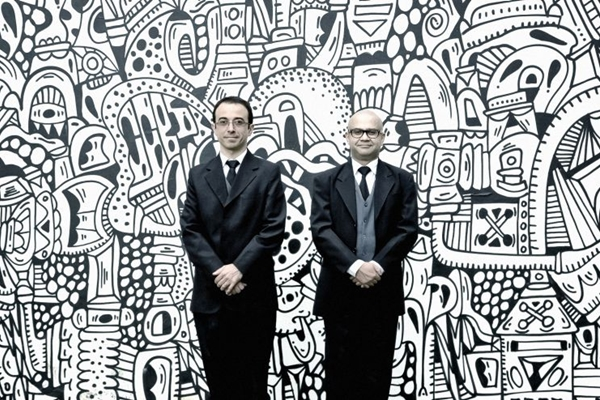 Pipo e Welder:  amizade e sucesso no palco  (Nicolau ElMoor/Divulgação)