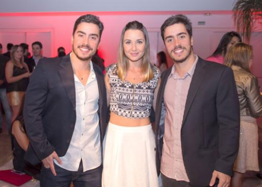 Eduardo Coelho, Taíla Lopes e Alexandre Coelho (Rômulo Juracy/Esp. CB/D.A Press)