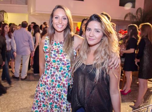 Amanda Miller e Rebeca Gonçalves (Rômulo Juracy/Esp. CB/D.A Press)