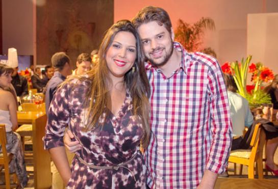 Caroline Lara e Leandro Veras (Rômulo Juracy/Esp. CB/D.A Press)