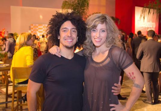 Rodrigo Vegetal e Lívia Oliveira (Rômulo Juracy/Esp. CB/D.A Press)