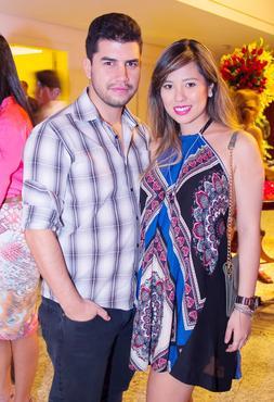Adriano Pereira e Yumi Marques (Rômulo Juracy/Esp. CB/D.A Press)