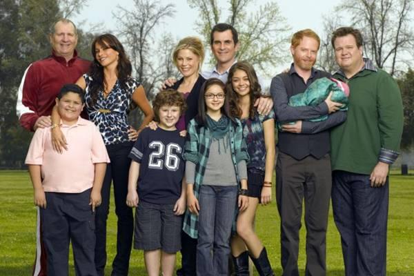 Queridinha do público, Modern family deve levar a estatueta de Melhor Comédia (Fox/Divulgação)