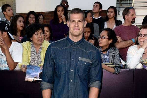 Ator Greg Finley (Frazer Harrison/Getty Images/AFP)