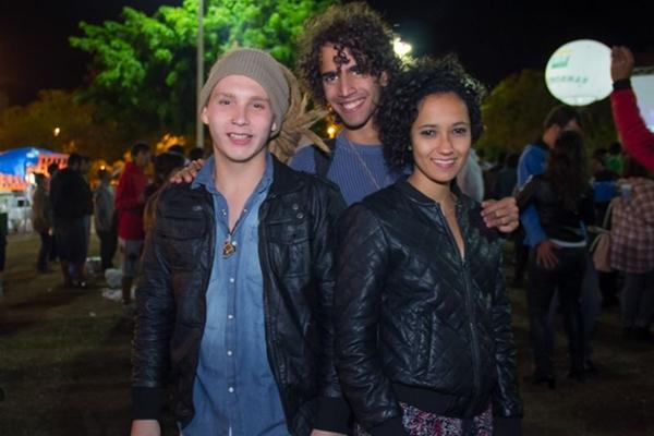 Felipe Manfrin, Yuri Rocha e Aline Hoffert (Romulo Juracy/Esp. CB/D.A Press)