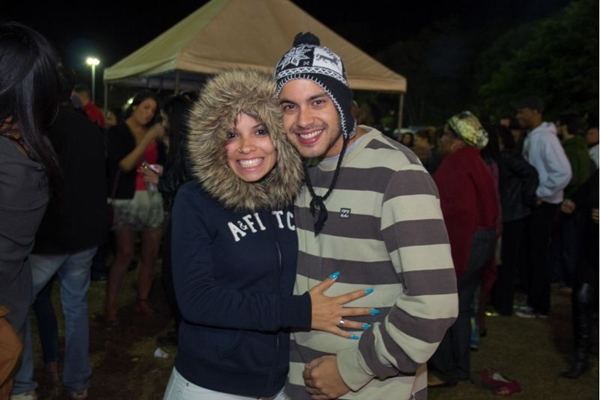 Bárbara Veiga e Thiago Barbosa (Romulo Juracy/Esp. CB/D.A Press)