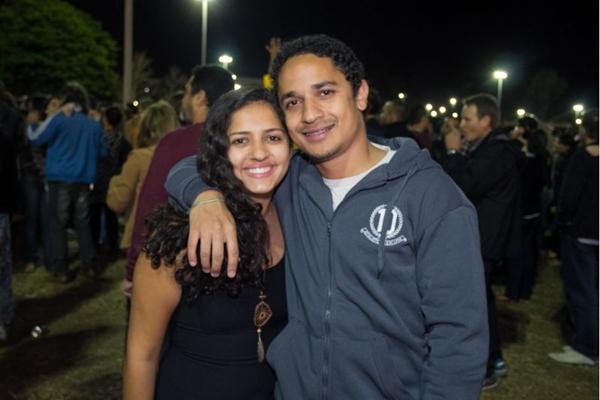 Sabrine Nascimento e Felipe Figueiredo (Romulo Juracy/Esp. CB/D.A Press)