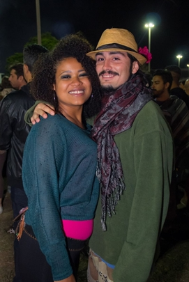 Nana Carvalho e Carlos Nunes  (Romulo Juracy/Esp. CB/D.A Press)