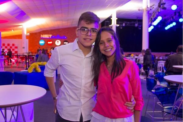 Vitor Caputo e Mariana Rizo (Romulo Juracy/Esp. CB/D.A Press)