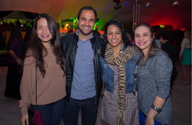Maria Rebeca, João Santos, Soraia Caldas e Milena Santos  (Romulo Juracy/Esp. CB/D.A Press)