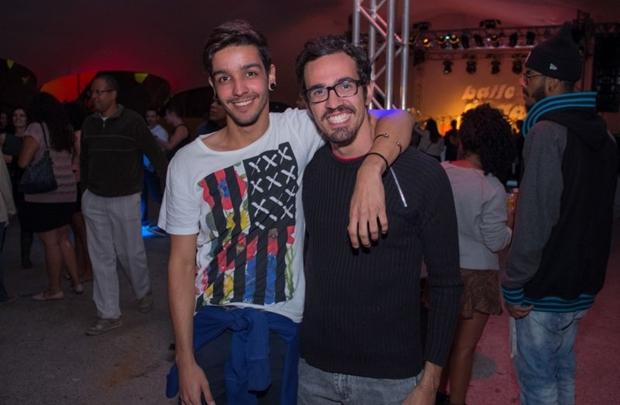 Victor Barcelos e Duka Menezes (Romulo Juracy/Esp. CB/D.A Press)