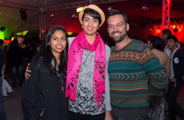 Pollyanna Abreu, Elaine Maria e Leandro Cesar (Romulo Juracy/Esp. CB/D.A Press)