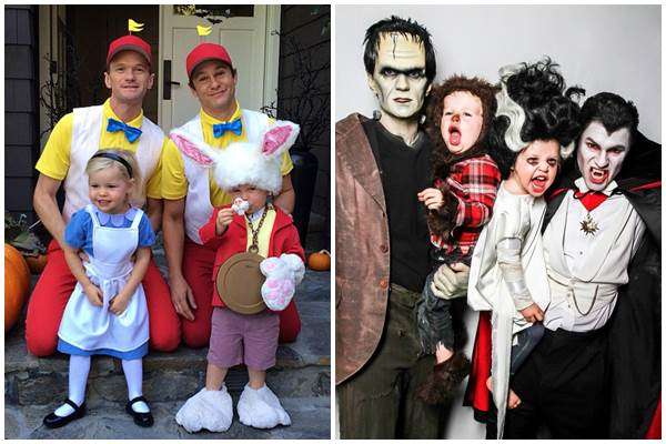 O casal já se declarou fãs do Halloween e provaram que investem nas fantasias (Reprodução/Instagram)