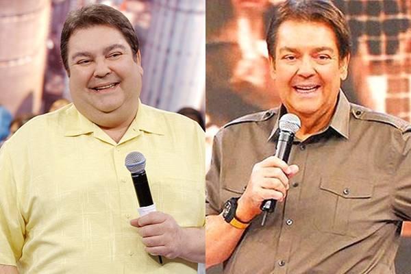 Em 2009, o apresentador Faustão se submeteu a uma cirurgia de redução de estômago, desde então ele perdeu pelo menos 34 quilos e atualmente mantém o peso com uma dieta livre de gorduras e açúcares (Reprodução/Internet)