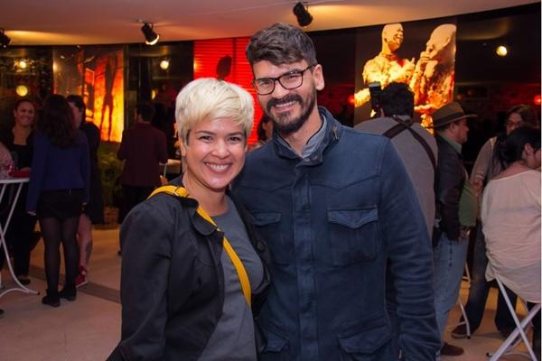 Andrea Alfaia e Fabrício Viana (Romulo Juracy/Esp. CB/D.A Press)