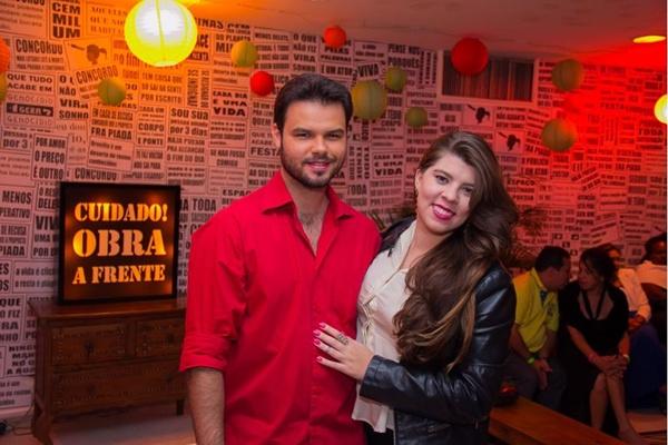 Carlos Roberto e Luisa Bomtempo (Romulo Juracy/Esp. CB/D.A Press)