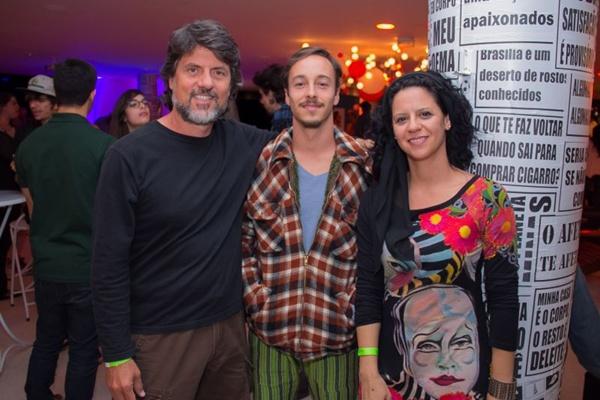 Fernando Santana, Igor Aveline e Alice Stefânia (Romulo Juracy/Esp. CB/D.A Press)