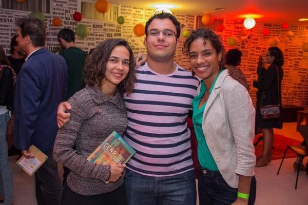 Isabela Henrique, Ricardo Bortoli e Dalva Santos (Romulo Juracy/Esp. CB/D.A Press)