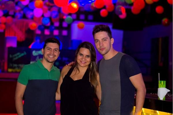 Alexandre Lima, Thaís Alves e Joabe Coelho (Romulo Juracy/Esp. CB/D.A Press)