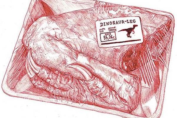 Reprodução de carne feita em laboratório: estimativa de venda em pelo menos 10 anos  (Next  Nature Network/BIS Publi)