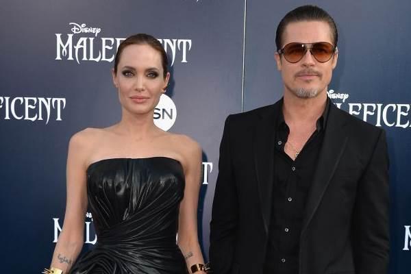 Angelina e Brad começaram a namorar durante as filmagens de' Sr. e Sra. Smith' (Frazer Harrison/Getty Images/AFP)