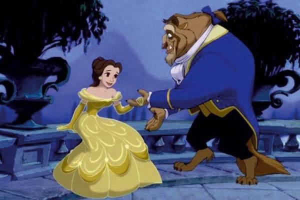 A história de Bela, Fera e Gaston foi lançada em 1991 e arrecadou mais de US$ 375 milhões. A animação vai ganhar uma nova versão com atores reais em setembro deste ano (Disney/Reprodução)