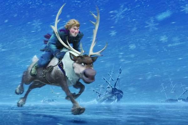 A animação 'Frozen - Uma aventura congelante' assumiu o posto de quinta maior bilheteria de todos os tempos. E primeira maior arrecadação da Disney. O longa já arrecadou US$ 1,21 bilhão (R$ 2,7 bilhões), desde a estreia, em dezembro de 2013 (Walt Disney/Divulgação)