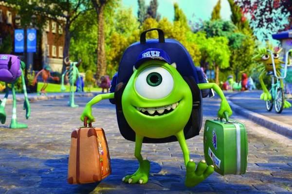 Universidade Monstros é a terceira maior arrecadação da Disney-Pixar. A animação é uma sequência de Monstros S.A, lançado em 2005  (Disney/Pixar)