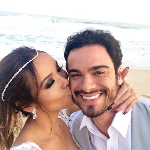 Ensaio de prévia do casamento de Carol Nakamura e Sidney Sampaio (Reprodução/Instagram)