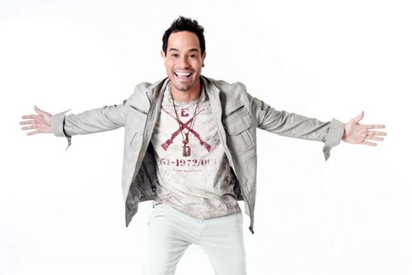 Alvinho, vocalista da banda Chica Fé (Santafé Hall/Divulgação)