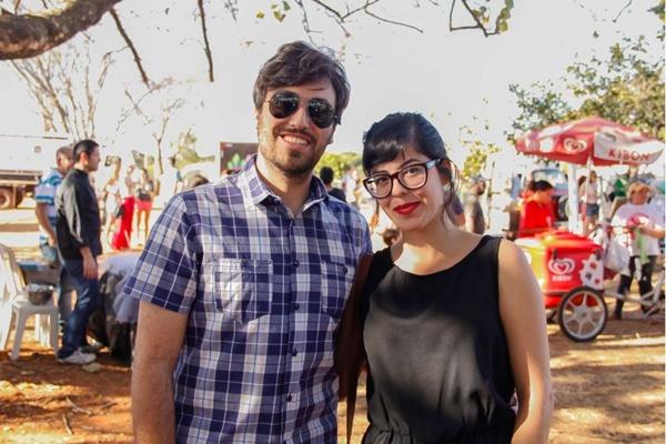 Gabriel Braga e Raquel Câmara (Romulo Juracy/Esp. CB/D.A Press)
