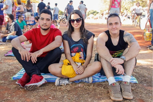 Guilherme Matos, Suzane Mendes e Renato Antônio (Romulo Juracy/Esp. CB/D.A Press)